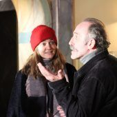 <p>Landkrimi-Dreharbeiten mit Laura Bilgeri und Karl Markovics.</p>
