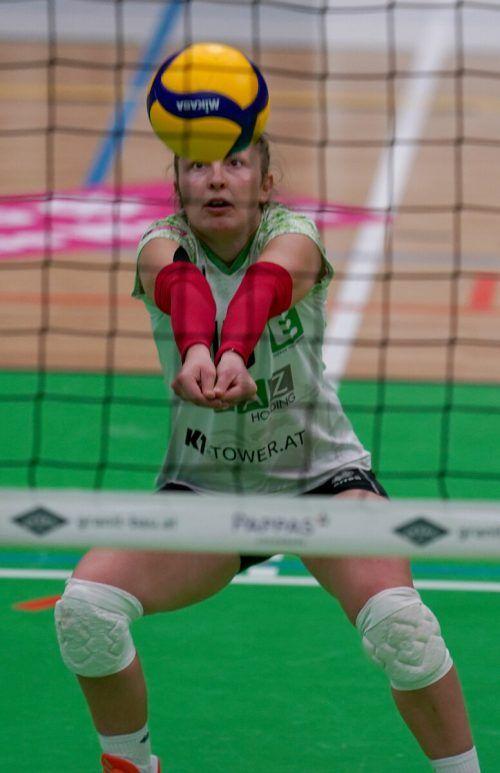 Libera Anna Oberhauser ist Stammspielerin bei Graz und im EM-Kader.GEPa