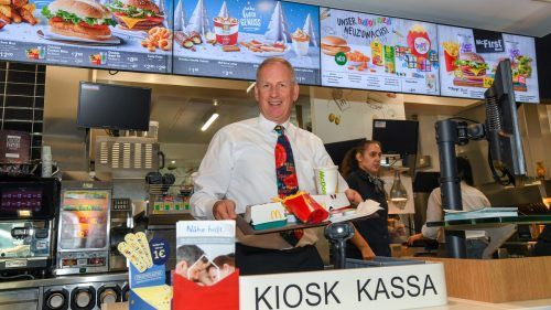 Loek Versluis ist mit 499 Mitarbeitern größter Gastro-Arbeitgeber. VN/lerch