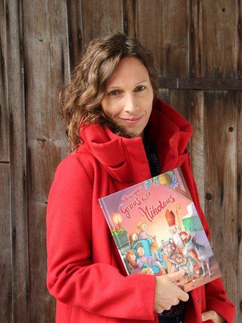 Michaela Holzinger leitet mit ihrem Krampus Graus-Video die Weihnachtszeit auf buchambach.at ein. Holzinger