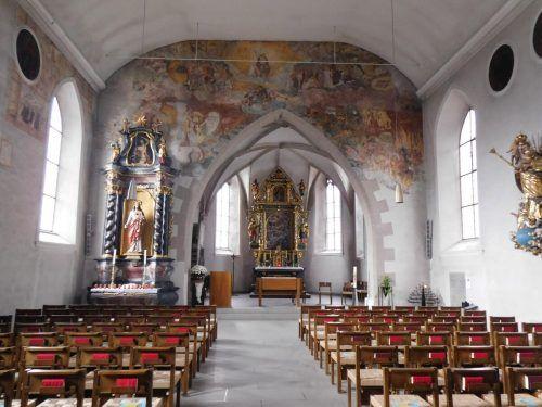 Mit den Patenschaften können die Fresken für die Zukunft erhalten werden. Mäser