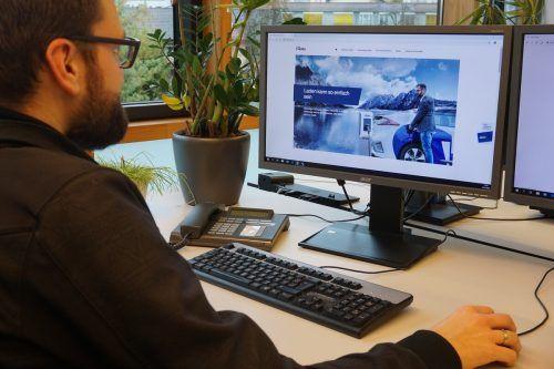Mit der neuen vlotte.at-Websseite werden alle Fragen rund um die E-Mobilität verständlich erklärt. illwerke vkw