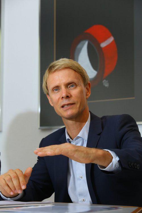 Müroll-Chef Uwe Müller ärgert sich über Äußerungen eines Landesrats. VN