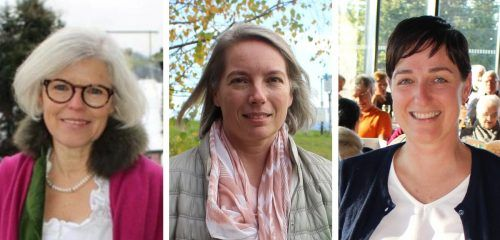 Neben 13 Vizebürgermeisterinnen gibt es mit Angelika Schwarzmann, Carmen Steurer und Bianca Moosbrugger-Petter (v. l.) drei Bürgermeisterinnen im Bregenzerwald. STP/3
