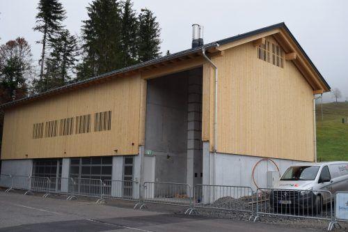 Das neue Mehrzweckgebäude in Schetteregg erfüllt verschiedenste Ansprüche. me