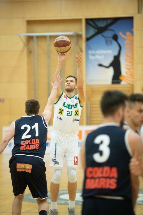 Neuzugang Benius Urbonavicius brachte es bei seinem Debüt auf 19 Punkte.VN/Sams