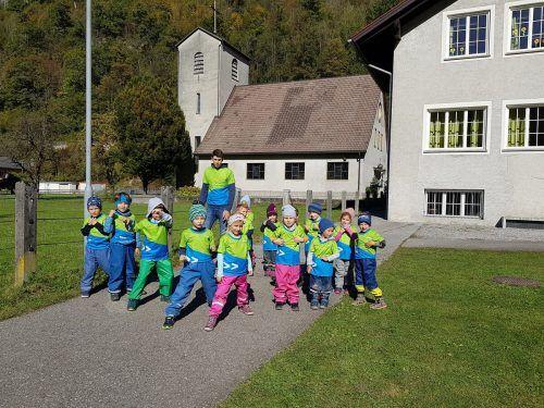 Nicht aufzuhalten waren die laufbegeisterten Kinder des Bewegungskindergartens Bings diesen Herbst.Stadt Bludenz