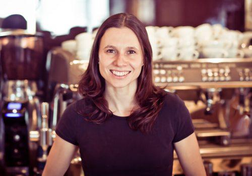 """Nicole Schneider-Schallert: """"Vermisse Kaffeehausbetrieb."""" Privat"""