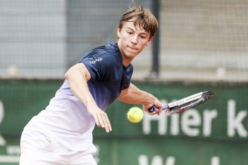Niklas Rohrer erreichte zweimal die zweite Runde.GEPA