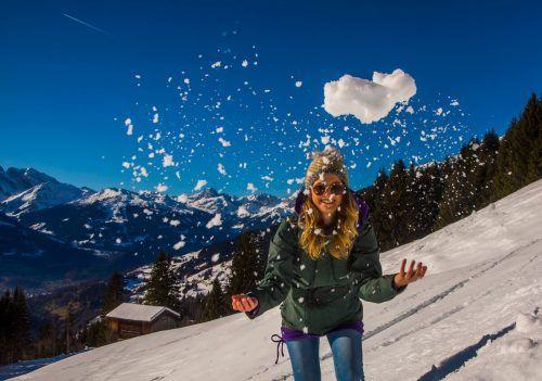 Ob Anfang Dezember der Schnee in den Bergen nur zu Fuß erreicht werden kann, steht noch nicht fest. VN/Paulitsch