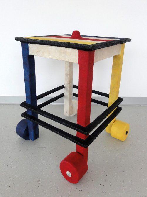 "Objekt ""Mondrian Reloaded"" von Uta Belina Waeger. waeger"