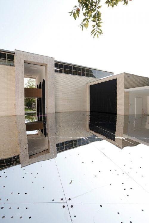 Österreich-Pavillon bei der letzten Architekturbiennale in Venedig. artphalanx