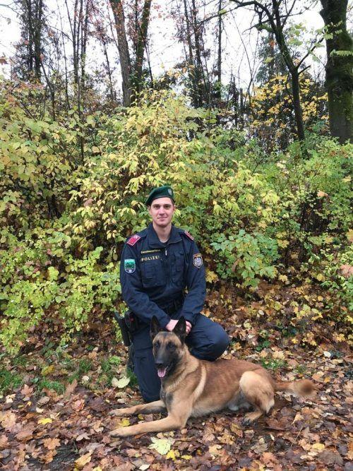 Oskar ist seit knapp zwei Jahren im Polizeidienst.