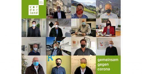 Regio-Bürgermeister und Regio-Obmann Werner Müller mit Maske. Regio