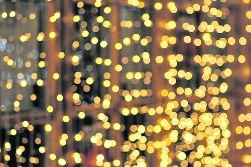 Schöne Beleuchtung sorgt für Stimmung, wenn schon die Weihnachtsmärkte fehlen.