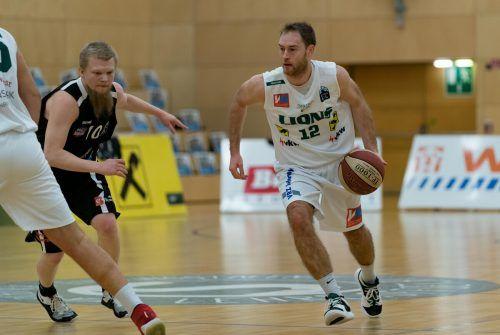 Kapitän Sebastian Gmeiner beendete seine Karriere bei den Lions. vn-stiplovsek