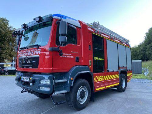 Seit August verstärkt der neue Tanklöscher den Fuhrpark der Feuerwehr Tosters. OF Tosters