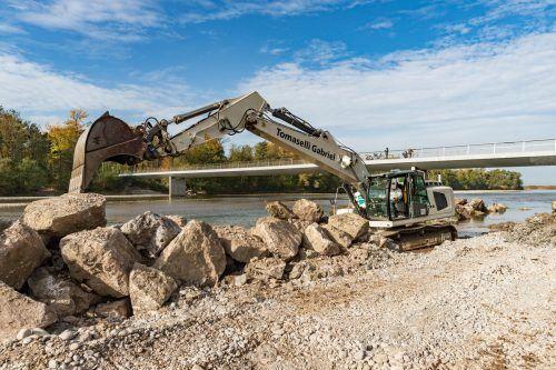 Seit vielen Jahren wird an einem Hochwasserschutzprojekt im Bereich der Bregenzerach geplant, jetzt wird auch gebaut.Stiplovsek