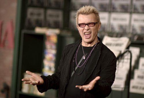 Sex und Drugs hat Billy Idol hinter sich gelassen, den Rock'n'Roll nicht. AP