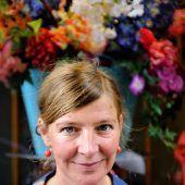 """<p class=""""caption"""">Simone Scharbert wird mit dem zweiten Preis ausgezeichnet. TAS/Hemberger</p>"""