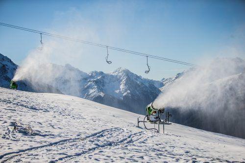 Skigebiete im Land fühlen sich für den Saisonstart gerüstet und wollen im Dezember loslegen. VN/Steurer