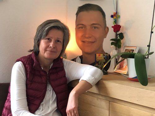 Theresa Perauer versucht, dem Tod ihres Sohnes Sinn zu geben. VN/Hämmerle