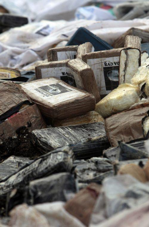 Tonnenweise werden in St. Gallen Suchtmittel verbrannt. ap
