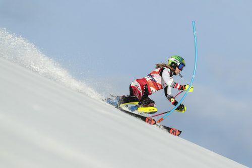 Traditionell geht es in Levi mit dem ersten Weltcupslalom der neuen Saison los. Katharina Liensberger belegte in den vergangenen beiden Jahren die Plätze sieben und acht.gepa