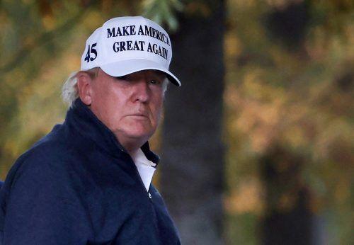 Trump sprach erneut ohne Belege von Wahlfälschung. reuters