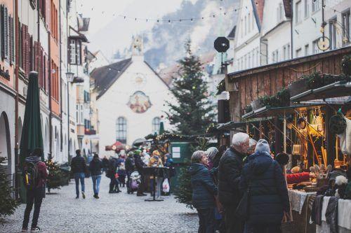 Viele der Geschäfte in Feldkirch bieten für den Weihnachtseinkauf einen Lieferservice an. Stadt/Jochum