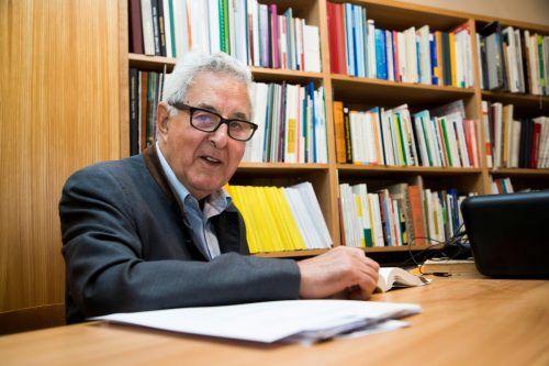 VN-Ombudsmann Gottfried Feurstein ist ein zäher Kämpfer für viele Menschen in diesem Land.VN/Paulitsch