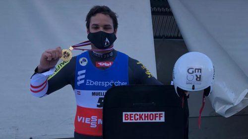 Wenige Tage vor Beginn der Weltcupsaison durfte sich Kunstbahnrodel-Ass Jonas Müller über seinen ersten Staatsmeistertitel im Einsitzer freuen.ÖRV