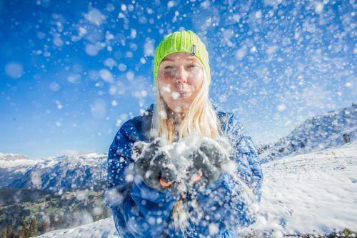 """Wintersportfans wie Lilia aus Höchst sollen sich auch im """"Coronawinter"""" auf Vorarlbergs Pisten vergnügen können. VN/Steurer"""