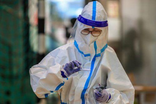 Wo die Tests stattfinden und wie sieablaufen, wird erst ausgearbeitet. AFP