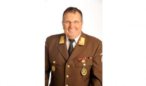 Wolfgang Huber wird neuer Bezirksfeuerwehrinspektor. Landesfeuerwehrverband