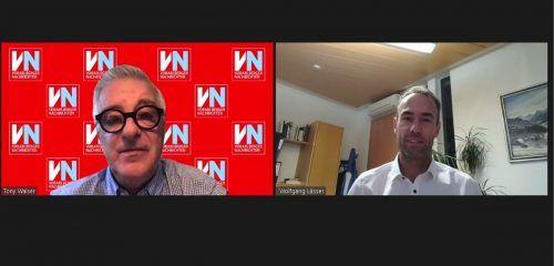 Wolfgang Lässer stellte sich im Interview den Fragen von VN-Redakteur Tony Walser.