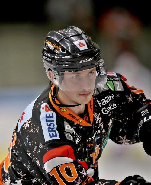 Zintis Nauris Zusevics steht temporär beim EHC Lustenau unter Vertrag.gepa