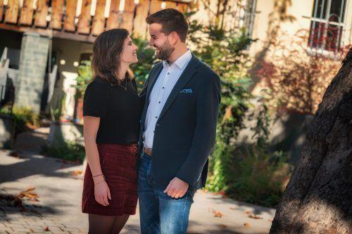 """Zwischen Melina und Simon Tschann hat es vor acht Jahren gefunkt. """"Ich bin stolz auf Simon"""", sagt Melina."""