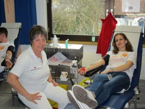Am heutigen Montag 14. Dezember findet im Musikheim Dornbirn-Rohrbach eine Blutspendeaktion statt. Blutspendedienst