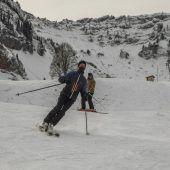 """<p class=""""caption"""">Am Schetteregg freute man sich über die Zahl der Vorarlberger Wintersportler. VN/Paulitsch</p>"""