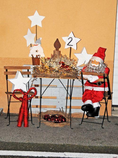 Anfang Dezember gab es in Kennelbach sogar eine vorweihnachtliche Gruppe.