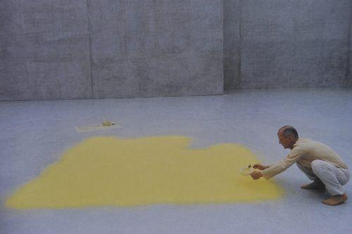 Arbeiten wie jene von Wolfgang Laib im Kunsthaus Bregenz, werden zu prägenden Erlebnissen. R. Sagmeister, Tas
