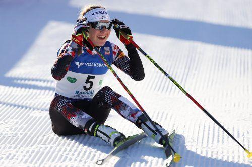 Beim ersten Weltcup-Bewerb der Nordischen Kombination für Damen in der Ramsau war Sigrun Kleinrath mit dem starken fünften Platz beste ÖSV-Athletin.gepa