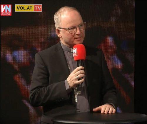Bischof Benno Elbs war im Vorarlberg-live-Studio in Schwarzach.