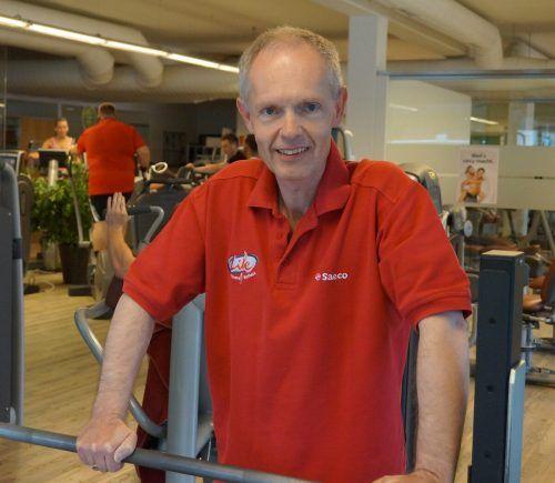 Manfred Scheel ist Sprecher der Vorarlberger Fitnessbetriebe. privat