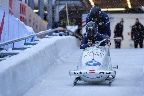 Bremserin Magdalena Baur holte erstmals ÖM-Gold.GEPA