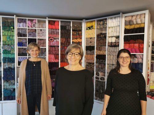 Brigitte Wachter, Ulrike Bartenbach und Katrin Vonbank beraten ihre Kunden sehr individuell und fachgerecht.BI