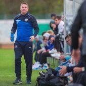 """<p class=""""caption"""">Coach Thomas Kirchmann hat von Koblach zu Hörbranz gewechselt. VN/Stiplovsek</p>"""