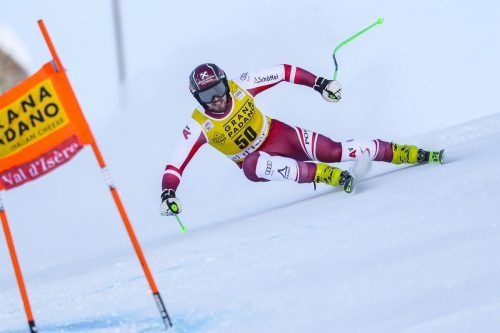 Daniel Hemetsberger überraschte im ersten Training für die Herrenabfahrt in Val d'Isere mit der fünftschnellsten Zeit. epa