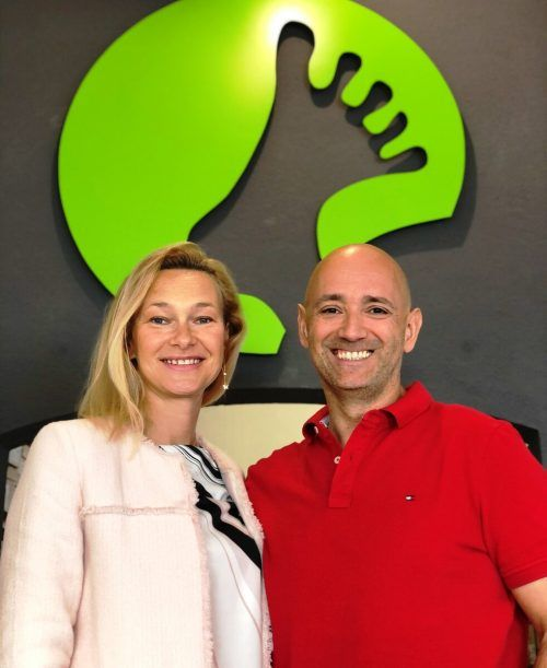 """Das """"Passt""""-Gründerpaar Jennifer und Michael Nater stößt zum Joya-Team. Fa"""